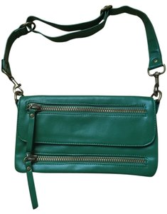 Target Faux Leather Shoulder Bag