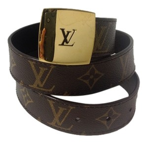 Louis Vuitton Louis Vuitton Monogram Belt Size 75/30.