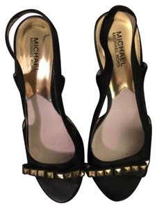 Michael Kors Black with Gold Studs Formal