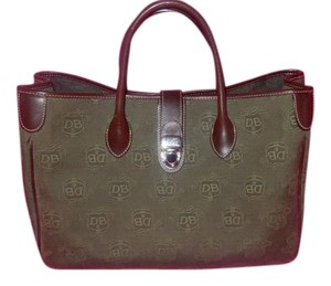 Dooney & Bourke Goode Work Classy Chic Satchel in OLIVE GREEN