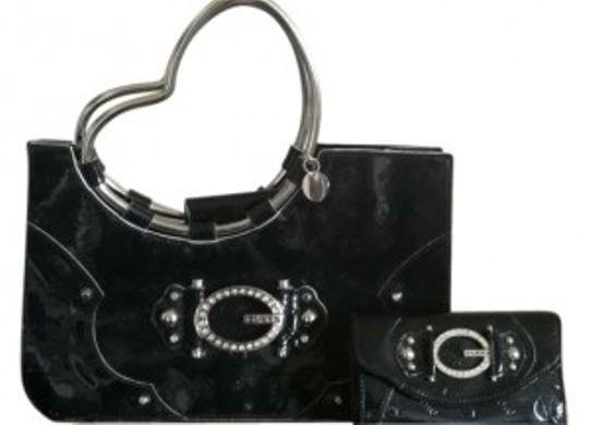 Guess black Clutch