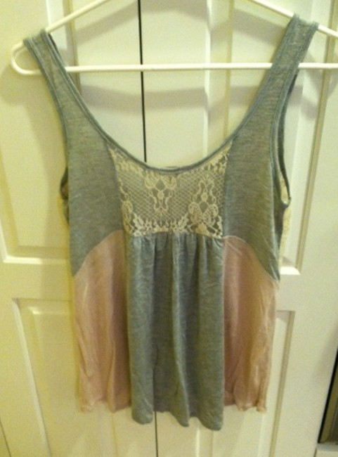 Just Ginger Top pink/gray