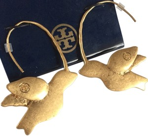 Tory Burch $250 BRAND NEW WITH TAGS TORY BURCH DOVE BIRD EARRINGS