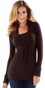 Cut Sweater Dress Warm Sweatshirt