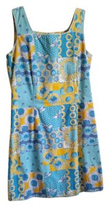 Lilly Pulitzer short dress Shades of Blue, Yellow, and White on Tradesy