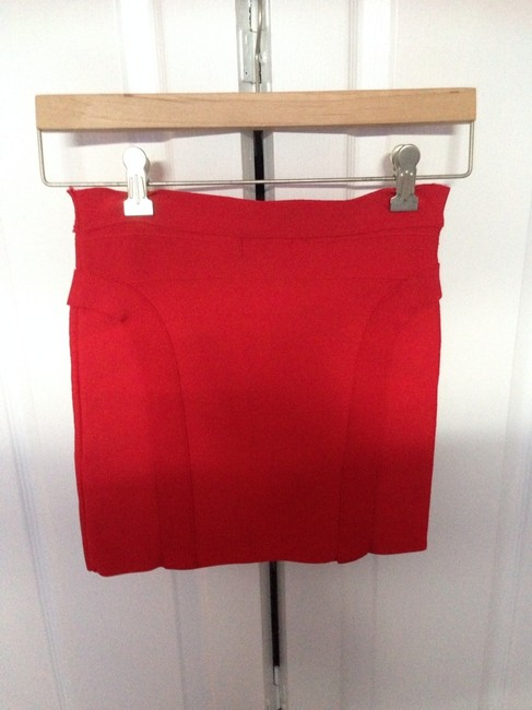 Guess Skirt Red