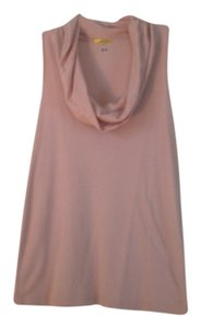 Preload https://item2.tradesy.com/images/three-dots-pink-brown-and-light-blue-cowl-neck-blouse-tank-topcami-size-12-l-1065691-0-0.jpg?width=400&height=650