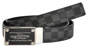 Louis Vuitton Reversible Damier Belt.