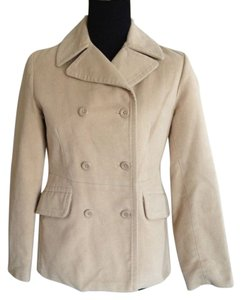 Gap Peacoat Beige Jacket