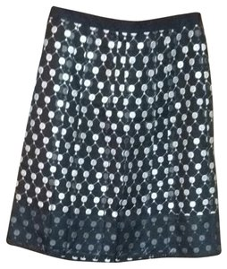 Ann Taylor Skirt Black/Grey