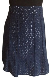 Ann Taylor Skirt Blue / White
