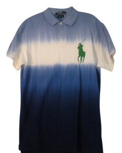 Ralph Lauren T Shirt Blue and white