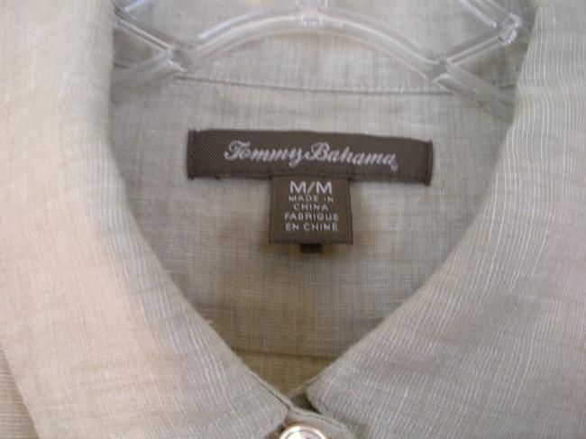 Tommy Bahama Button Down Shirt Beige
