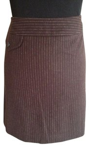 Banana Republic Mini Skirt Brown