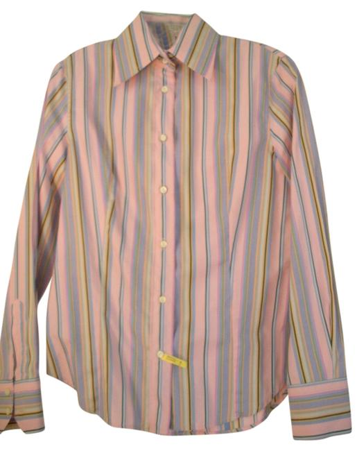 Etro Button Down Shirt pink and multi-color
