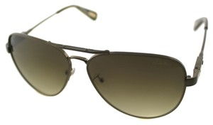 Lanvin Lanvin SLN 038 Unisex Polarized Bronze Brown Aviator Sunglasses NEW