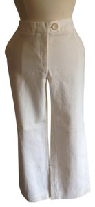 Ann Taylor Courdoroy Trouser Pants White