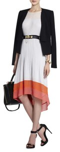 BCBGMAXAZRIA Cheerful Color-blocked Dress