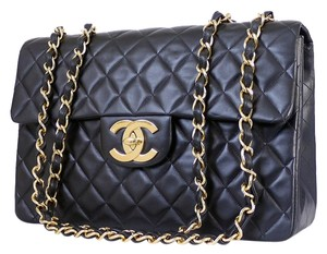Chanel Classic Handbag Jumbo Large Shoulder Bag