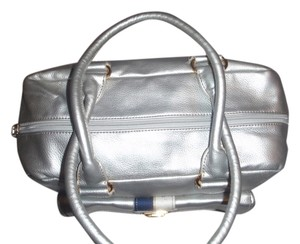 Tommy Hilfiger Handbag Tote Baguettes Satchel in gray