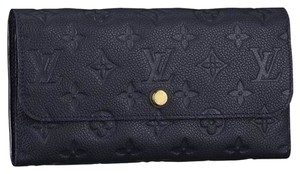 Louis Vuitton Louis Vuitton Black Empreinte Infini Leather Vitruose Wallet CA4162