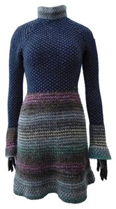 Chanel short dress Multi Color, Blue, Gray, Red, Pink, Gold, Silver Tweed on Tradesy