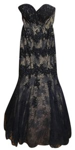 Camille la Vie Sweetheart Beaded Dress