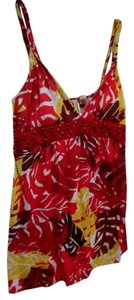Eyeshadow Summer Beach Xl Top Multi-color Red