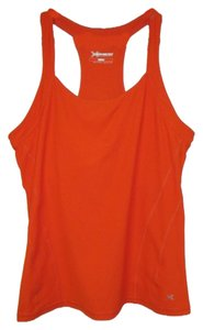 Xersion Large Racerback Sports Bra Top Orange