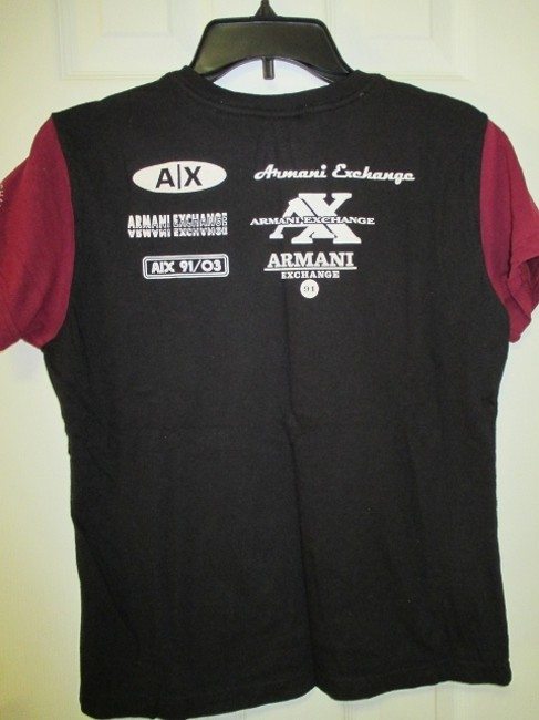A|X Armani Exchange Large T Shirt Black