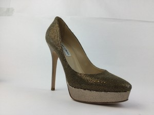 Jimmy Choo Gold/Silver Pumps