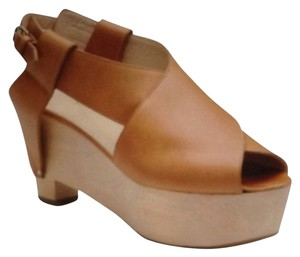 3.1 Phillip Lim Palomino/tan Platforms