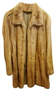 New York & Company Vintage Mink Mink Fur Coat