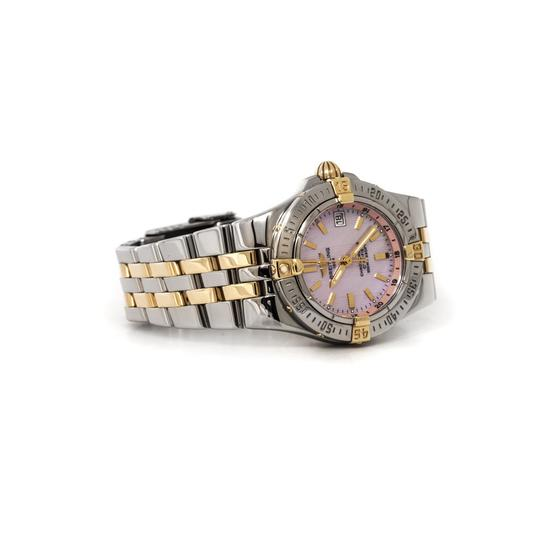 Breitling Starliner Steel 18kt Yellow Gold Pink Mother-of-Pearl (B71340)