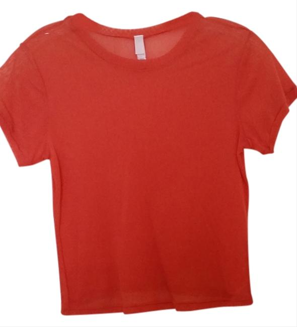 Victoria's Secret T Shirt Orange