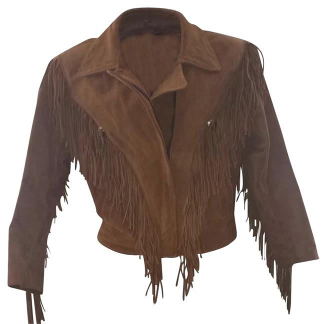 Preload https://img-static.tradesy.com/item/1066450/lariat-leather-brown-fringe-size-12-l-0-0-650-650.jpg