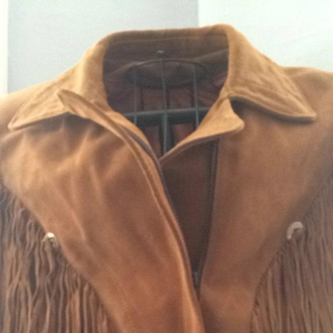 Lariat Leather Brown Jacket