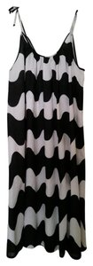 Marimekko short dress Black/white on Tradesy