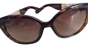 Dior Christian Dior Sunglasses with Goldtone Sparkle Hands. Made in Italy