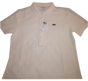 Lacoste Button Down Shirt Creme