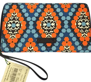 Vera Bradley Vera Bradley Large Zip Around Marrakesh Wallet New