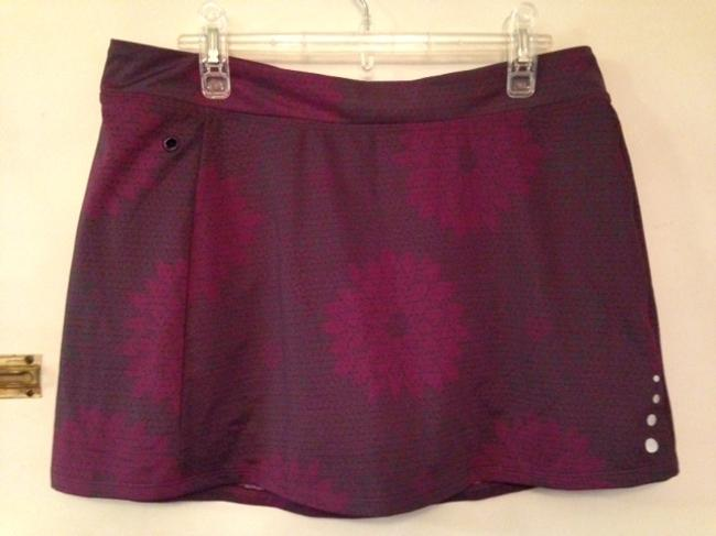 L.L.Bean LLBean purple skort
