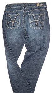 KUT from the Kloth Straight Leg Jeans-Medium Wash