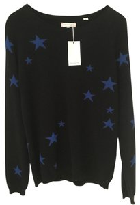 Chinti and Parker Stars Star Print Cashmere Chintiandparker Sweater
