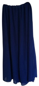 Other Long Maxi Long Maxi Skirt Blue