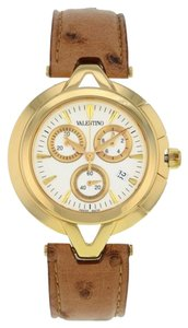 Valentino Valentino Chronograph V51LCQ5002-S497 Gold Tone Stainless Steel Quartz Men's Watch (8521)