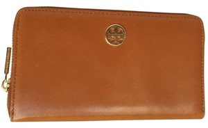 Tory Burch Tory Burch Dena Zip Continental Leather Wallet LEATHER