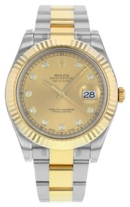 Rolex Rolex Datejust II 116333 chdo 18K Yellow & Steel Automatic Men's Watch (11615)