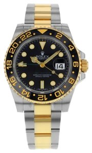 Rolex Rolex GMT-Master II 116713LN Steel & 18K Yellow Gold Automatic Men's Watch (11624)