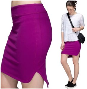 Lululemon New With Tags Lululemon City Skirt Regal Plum Size 6
